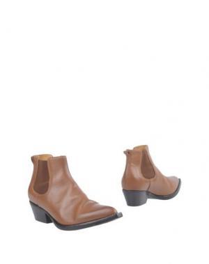 Полусапоги и высокие ботинки CHIARINI BOLOGNA. Цвет: желто-коричневый