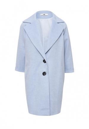 Пальто adL. Цвет: голубой