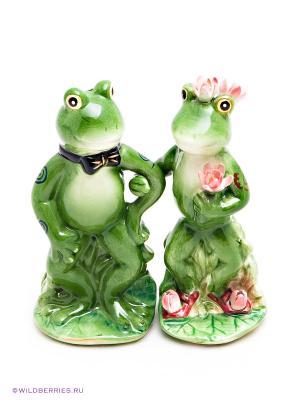 Набор Лягушки Pavone. Цвет: зеленый