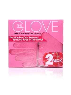 Перчатки косметические MakeUp Eraser. Цвет: розовый