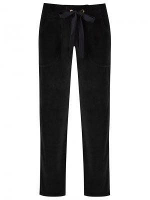 Прямые брюки Lygia & Nanny. Цвет: чёрный