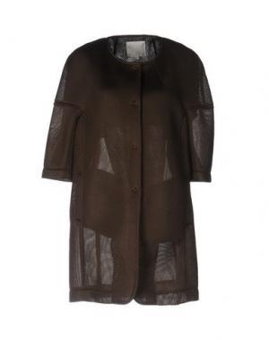 Легкое пальто TROU AUX BICHES. Цвет: хаки