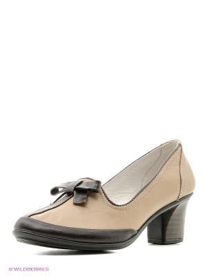 Туфли Walrus. Цвет: коричневый