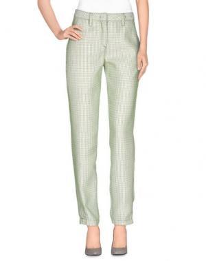 Повседневные брюки MASSIMO ALBA. Цвет: светло-зеленый