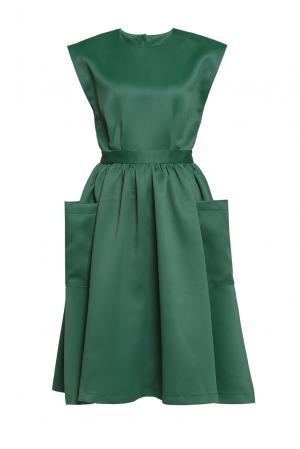 Платье 188064 Cyrille Gassiline. Цвет: зеленый