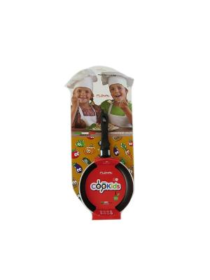 Сковорода с антипригарным покрытием, Ф 140 мм FLONAL. Цвет: черный, фиолетовый