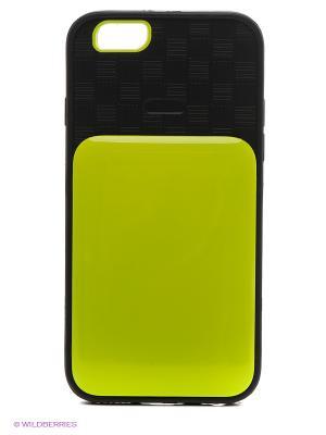 Чехол для iphone 6 WB. Цвет: салатовый, черный