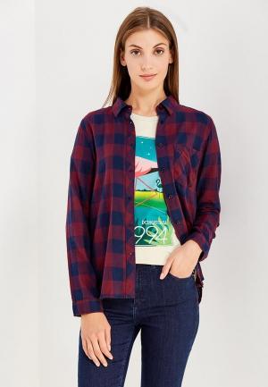 Рубашка Jacqueline de Yong. Цвет: бордовый