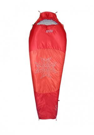 Спальный мешок Novatour. Цвет: красный