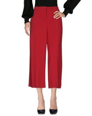 Повседневные брюки GOTHAINPRIMIS. Цвет: красный