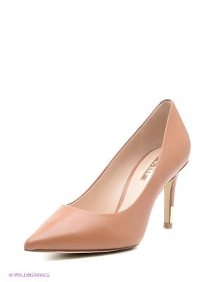 Туфли GUESS. Цвет: персиковый