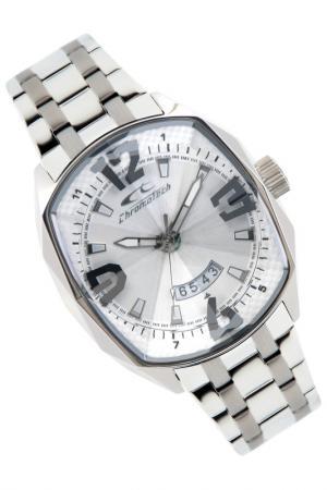 Часы наручные Chronotech. Цвет: серый