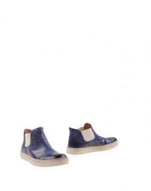 Полусапоги и высокие ботинки SEBOY'S. Цвет: синий