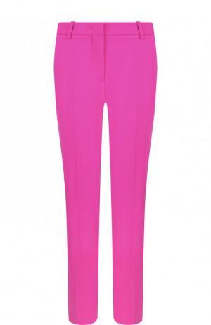 Укороченные шерстяные брюки со стрелками Emilio Pucci. Цвет: фуксия