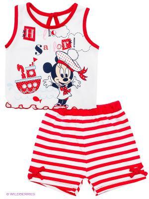 Комплект Disney. Цвет: красный, белый