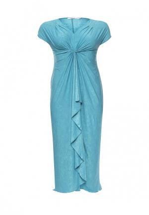 Платье Lina. Цвет: бирюзовый