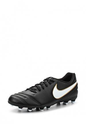 Бутсы Nike. Цвет: черный