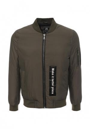 Куртка Gianni Lupo. Цвет: хаки