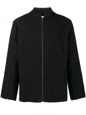 Куртка с подкладкой из норкового меха By Walid. Цвет: чёрный