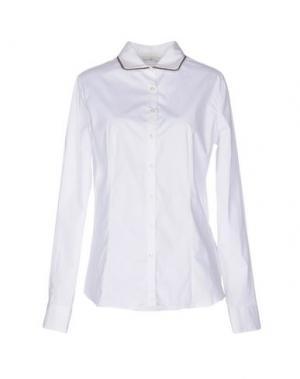 Pубашка DELLA CIANA. Цвет: белый