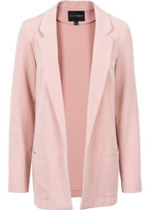 Жакет (винтажно-розовый) bonprix. Цвет: винтажно-розовый