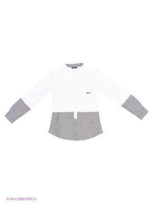 Рубашка GUESS. Цвет: серый