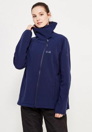 Куртка Jack Wolfskin. Цвет: синий