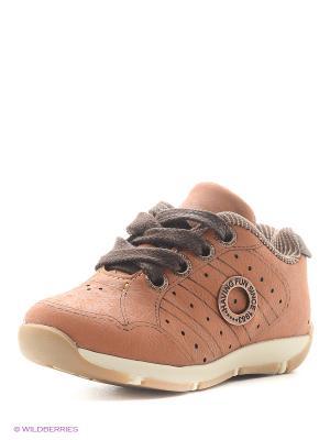 Ботинки Klin. Цвет: оранжевый
