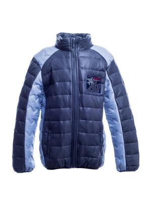 Куртка Bonito kids. Цвет: серый, светло-серый