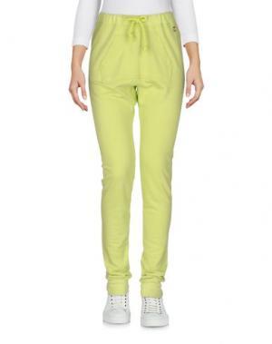 Повседневные брюки MAISON ESPIN. Цвет: кислотно-зеленый