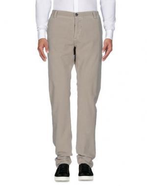 Повседневные брюки NICWAVE. Цвет: светло-серый