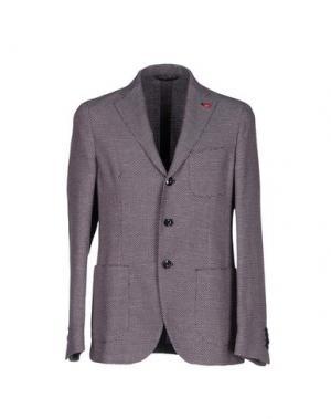 Пиджак SARTORIA LATORRE. Цвет: красно-коричневый