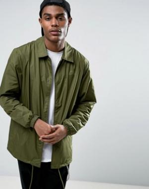 Nike SB Зеленая спортивная куртка 829509-331. Цвет: зеленый