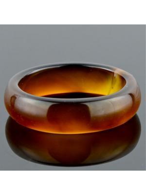 Кольцо Сардоникс Классика Колечки. Цвет: коричневый