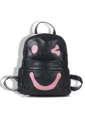 Рюкзак AnnA Wolf. Цвет: черный, розовый