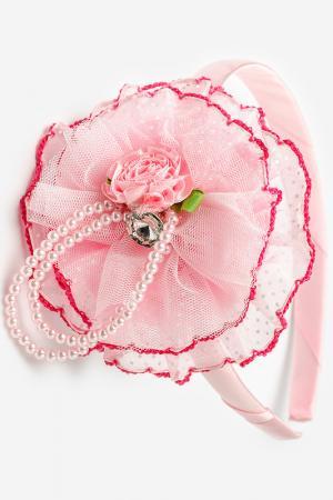 Ободок Biruza Kids. Цвет: розовый