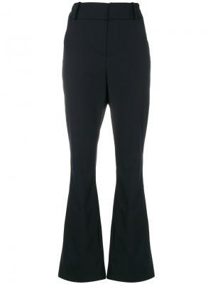Расклешенные брюки с завышенной талией Marni. Цвет: синий