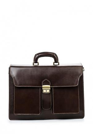 Портфель Roberta Rossi. Цвет: коричневый