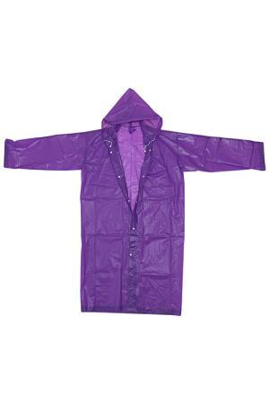 Непромокаемый плащ HOMSU. Цвет: фиолетовый