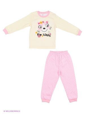 Пижама PEPELINO. Цвет: розовый