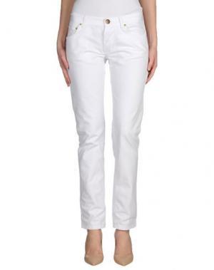 Джинсовые брюки ANTONY MORATO. Цвет: белый