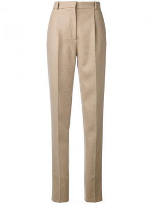 Классические брюки Christopher Kane. Цвет: телесный