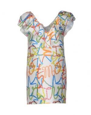Короткое платье LEITMOTIV. Цвет: белый