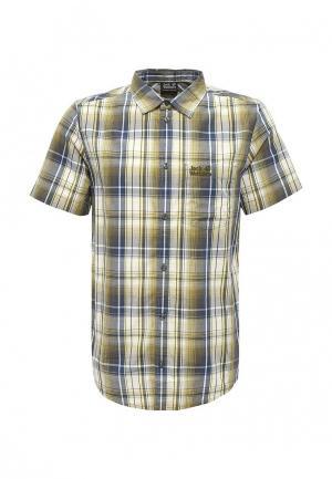 Рубашка Jack Wolfskin. Цвет: зеленый