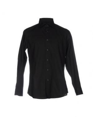 Pубашка HARRY & SONS. Цвет: черный