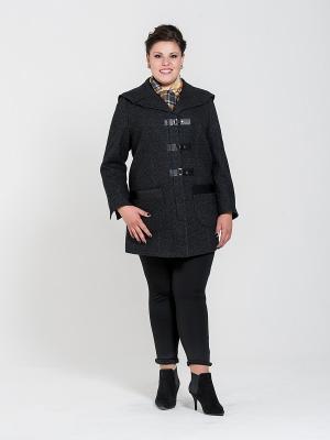 Пальто Silver-String. Цвет: темно-серый