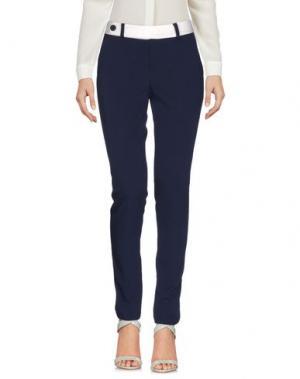 Повседневные брюки HANNY DEEP. Цвет: синий