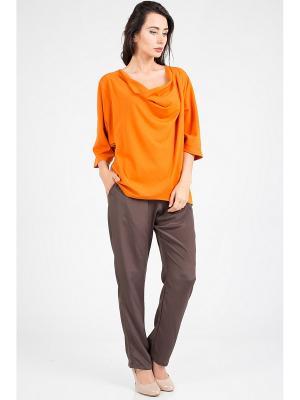 Блузка Amado Barcelona. Цвет: оранжевый