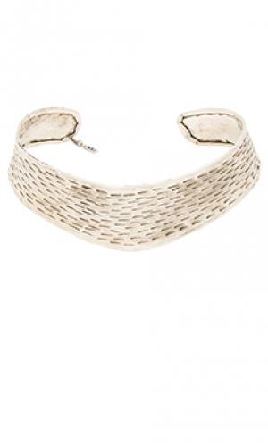Ожерелье yev Natalie B Jewelry. Цвет: металлический серебряный