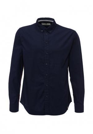 Рубашка Drywash. Цвет: синий